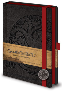 Game of Thrones Fire Blood Targaryen Premium Notebook 180 page Journal Notebook 6x8