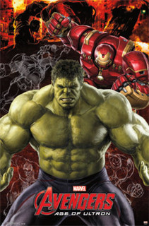 Avengers Age of Ultron Hulk Movie Poster 22x34