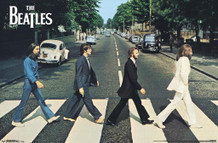 The Beatles Abbey Road Album Cover Music Poster 34x22
