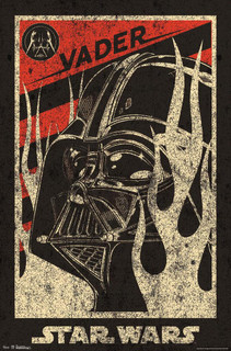 Star Wars Darth Vader Dark Side Propaganda Movie Poster 22x34