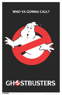 Ghostbusters Who Ya Gonna Call Supernatural Comedy Film Movie No Ghosts Poster - 11x17