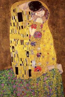 Gustav Klimt The Kiss Art Print Poster 24x36