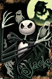 Jack Nightmare Before Christmas Glow In The Dark Glow in the Dark Poster 22x34