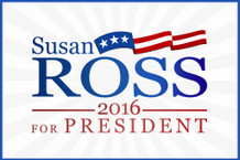Susan Ross For President 2016 TV Show Campaign Poster 12x18