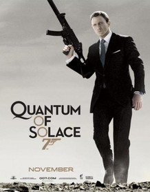 James Bond Quantum of Solace Movie Giant Poster - 39x55