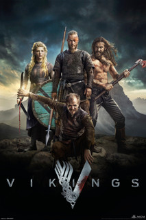 Vikings Characters TV Poster 24x36