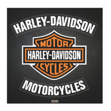Harley Davidson Leather Poster - 15.75x15.75