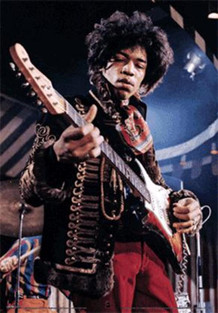 Jimi Hendrix Rock And Roll Electric Guitarist Singer Songwriter Music Lenticular 3D Poster 11x17