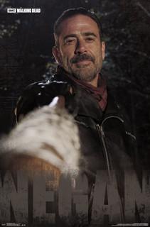 Walking Dead Negan TV Show Poster 22x34