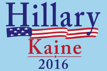 Hillary Clinton Tim Kaine 2016 President Campaign Poster 12x18