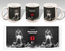 Muhammad Ali Sonny Liston KO Boxing Sports Coffee Mug