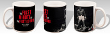Muhammad Ali vs. Sonny Liston First Minute First Round Boxing Sports Coffee Mug