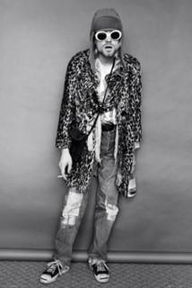 Kurt Cobain Standing Music Poster 24x36