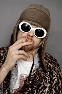 Kurt Cobain Color Music Poster 24x36