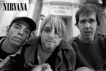 Nirvana Band Music Poster 36x24