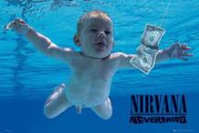 Nirvana Nevermind Music Poster 36x24