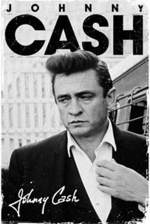 Johnny Cash Signature Music Poster 24x36