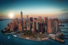 New York Freedom Tower Manhattan Photo Art Print Poster 36x24
