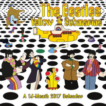 The Beatles Yellow Submarine 2017 16 Month Wall Calendar 12x12