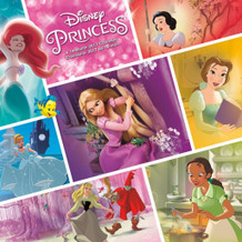 Disney Princess Movie 2017 16 Month Wall Calendar 12x12