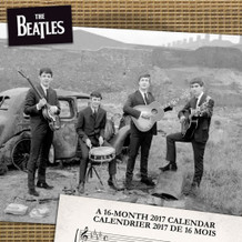 The Beatles 2017 16 Month Wall Calendar 12x12