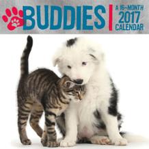 Buddies 2017 16 Month Wall Calendar 12x12