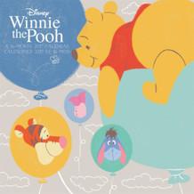 Winnie The Pooh 2017 16 Month Wall Art Calendar 12x12