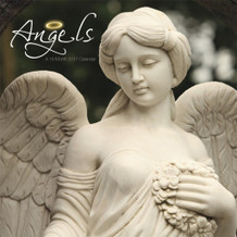 Angels 2017 16 Month Wall Calendar 12x12