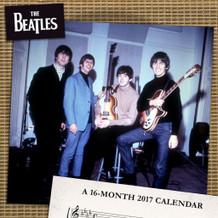 The Beatles 2017 16 Month Mini Calendar 7x7