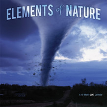 Elements of Nature 2017 16 Month Wall Calendar 12x12