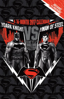 Batman v Superman Dawn of Justice 2017 Oversized Poster Calendar 11x17