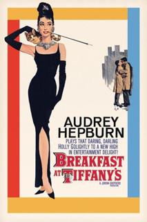 Breakfast at Tiffanys Audrey Hepburn Holly Golightly Romantic Comedy Movie Film Poster 11x17