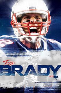 New England Patriots Tom Brady 2016 NFL Football Sports Poster 22x34