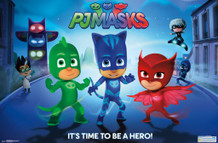 PJ Masks Hero TV Show Poster 22x34