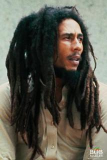 Bob Marley Pin Up Music Poster 24x36