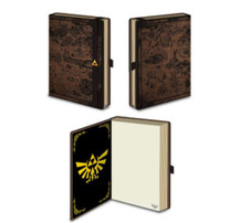 Legend of Zelda Hyrule Map Video Gaming Journal Notebook 4x6