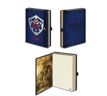 Legend of Zelda Hylian Shield Video Gaming Journal Notebook 4x6
