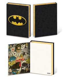 Batman Bat Symbol Premium Comic Book Journal Notebook 6x8