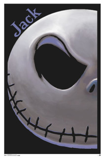 The Nightmare Before Christmas Jack Movie Blacklight Poster 22x34