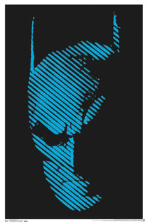 Batman Comic Book Art Blacklight Poster 22x34