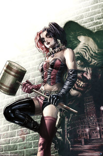 Harley Quinn Wall Comic Book Art Poster 22x34