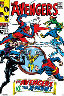 Avengers vs. X Men Comic Book Poster 24x36