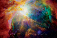 Imagination Nebula Poster 17x11
