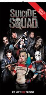 Suicide Squad 2017 16 Month Mini Poster Calendar 6x12