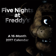 Five Nights At Freddys 2017 16 Month Mini Calendar 7x7