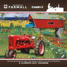 Farmall 2017 16 Month Wall Calendar 12x12