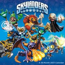 Skylanders 2017 16 Month Wall Calendar 12x12