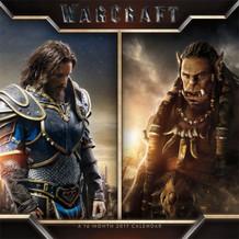 Warcraft 2017 16 Month Wall Calendar 12x12