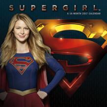 Supergirl 2017 16 Month Wall Calendar 12x12