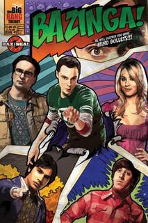 The Big Bang Theory Comic TV Show Poster 24x36